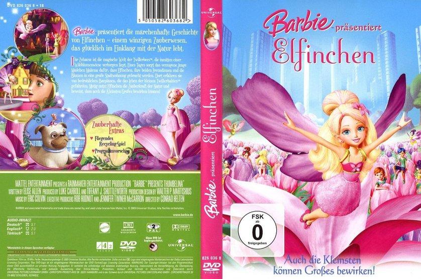 barbie pr sentiert elfinchen dvd oder blu ray leihen. Black Bedroom Furniture Sets. Home Design Ideas