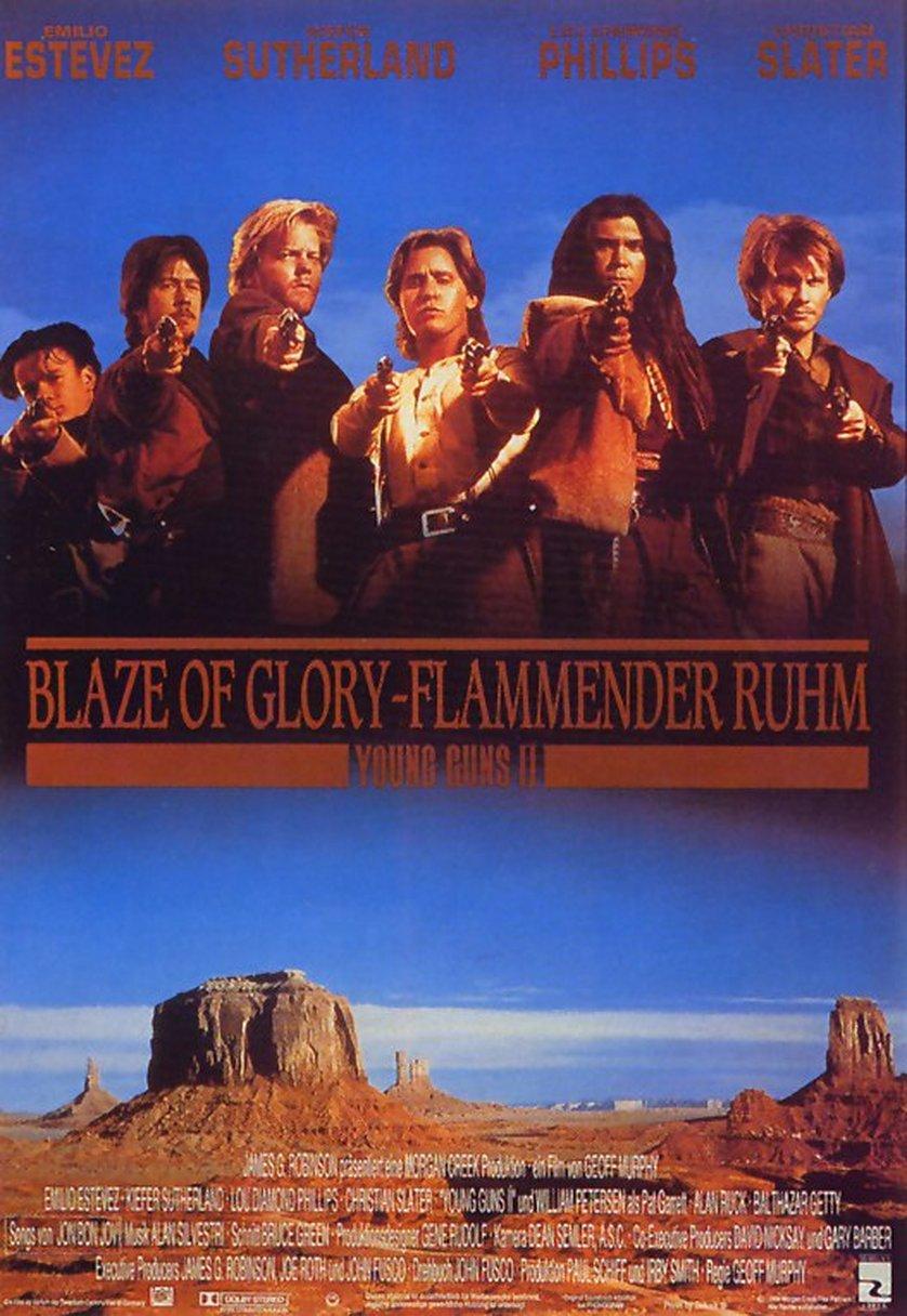 blaze of glory – flammender ruhm