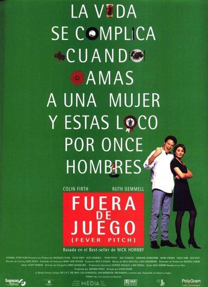 Fever pitch ballfieber dvd oder blu ray leihen for Autor de fuera de juego