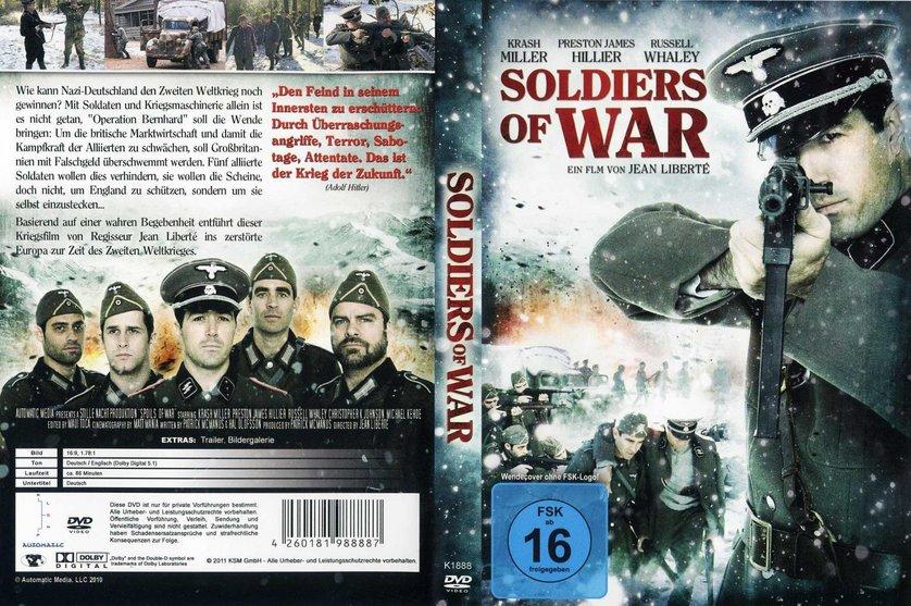Bildergebnis für soldiers of war dvd