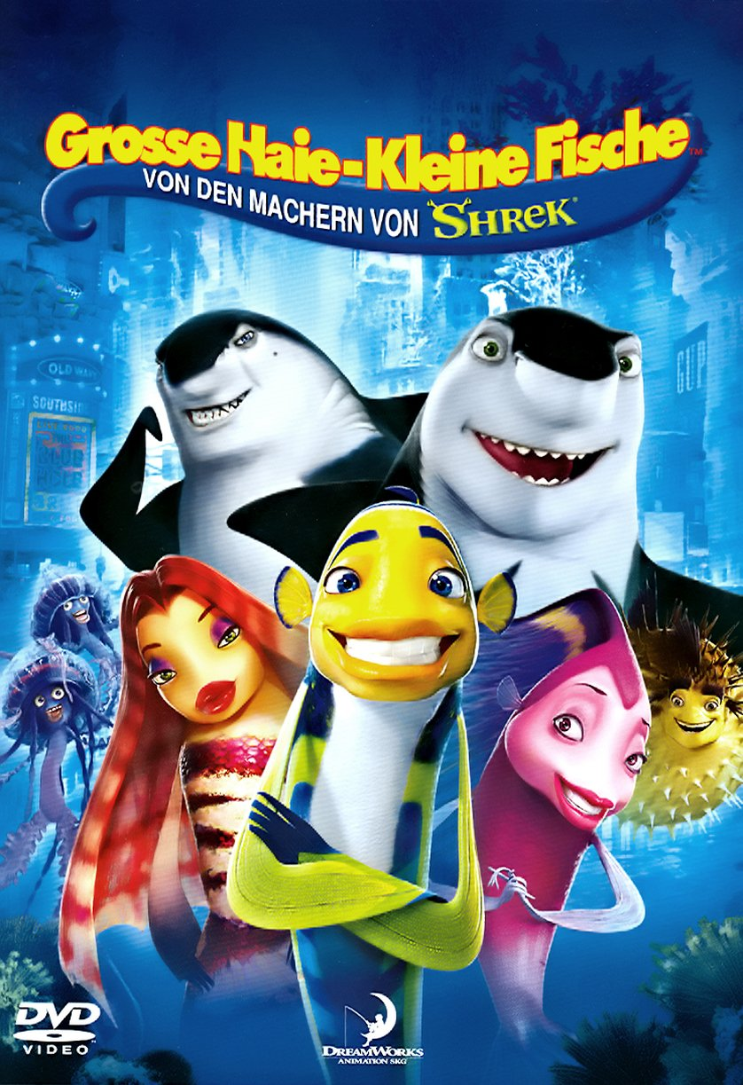 Gro e haie kleine fische dvd oder blu ray leihen for Kleine fische