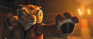 2011: Jolie spricht 'Tigress' © DreamWorks
