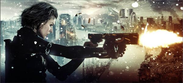 Milla Jovovich in 'Resident Evil 5' © Constantin 2012