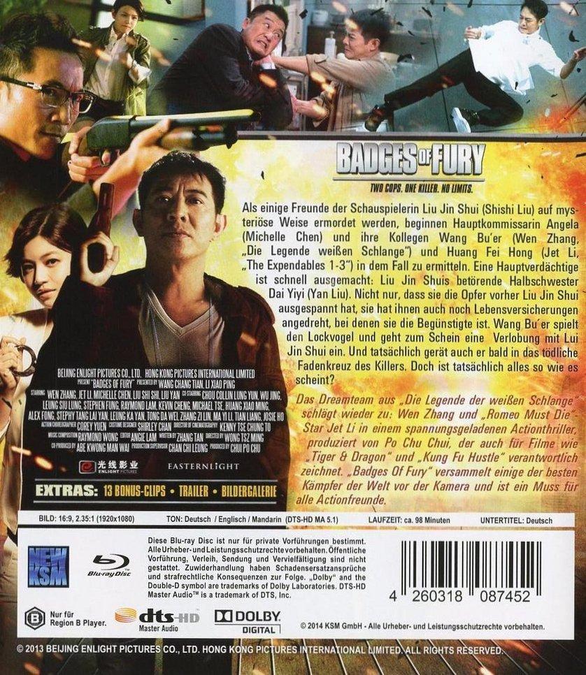 Badges Of Fury Dvd Oder Blu Ray Leihen Videobusterde