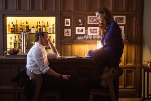 Alicia Vikander und James McAvoy in 'Grenzenlos' © Warner Bros