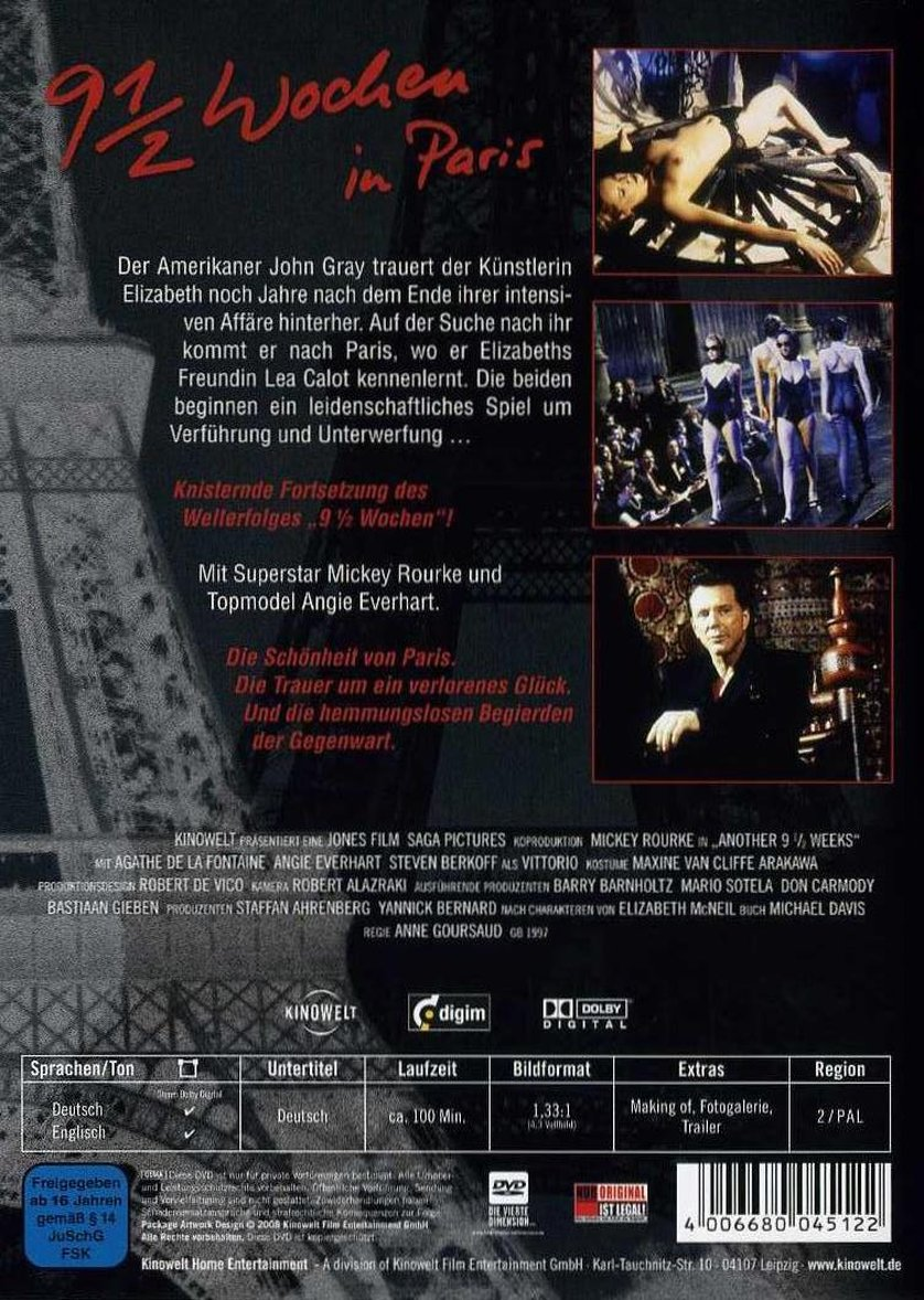 9 12 Wochen In Paris Dvd Oder Blu Ray Leihen Videobusterde
