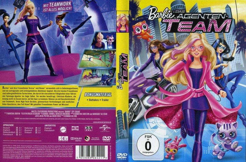 barbie in das agenten team dvd oder blu ray leihen. Black Bedroom Furniture Sets. Home Design Ideas