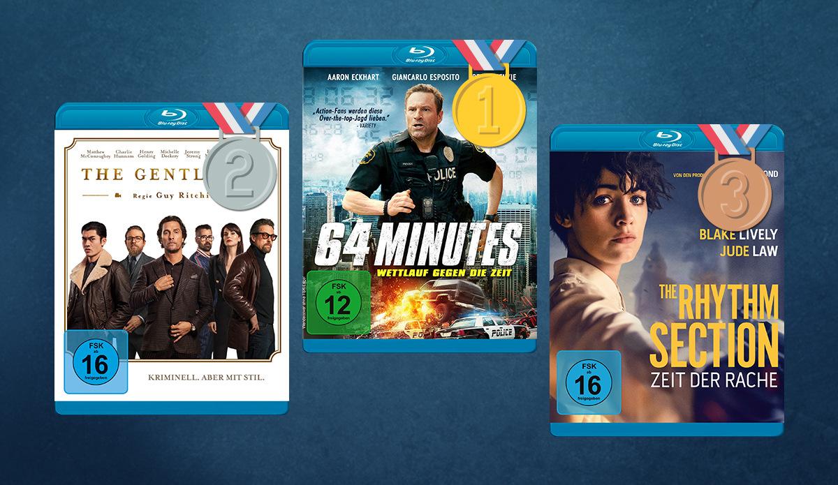 Die besten Filme auf DVD & Blu-ray: Eure Verleihhits der letzten 30 Tage