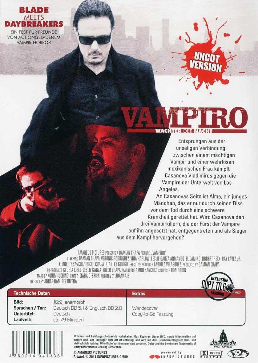 vampiro w chter der nacht dvd oder blu ray leihen. Black Bedroom Furniture Sets. Home Design Ideas