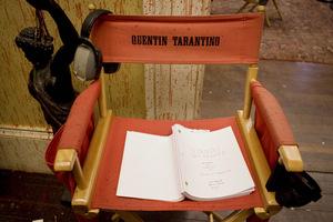 Das Django-Skript am Set © Sony