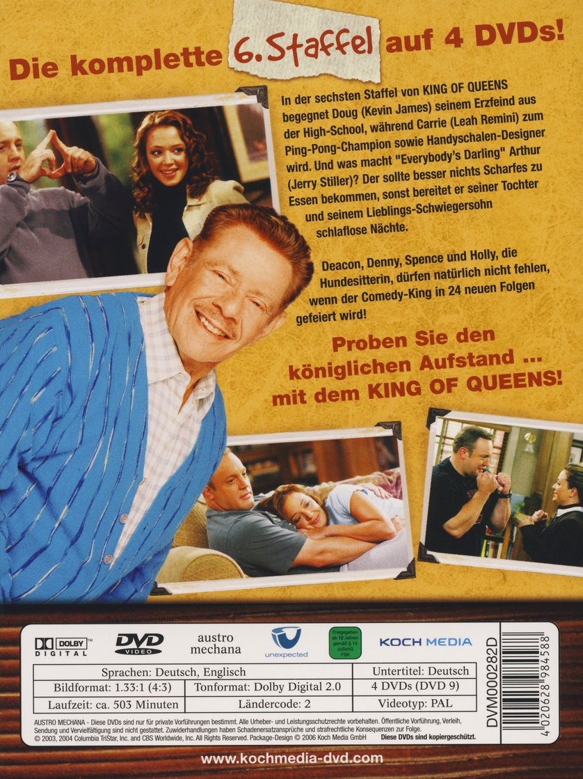 King Of Queens Staffel 4