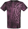 Outer Vision Scratch Tattoo T-Shirt schwarz rosa powered by EMP (T-Shirt)