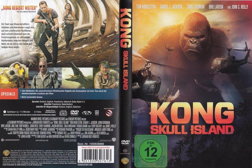 Skull Island Blu Ray D Deutschland