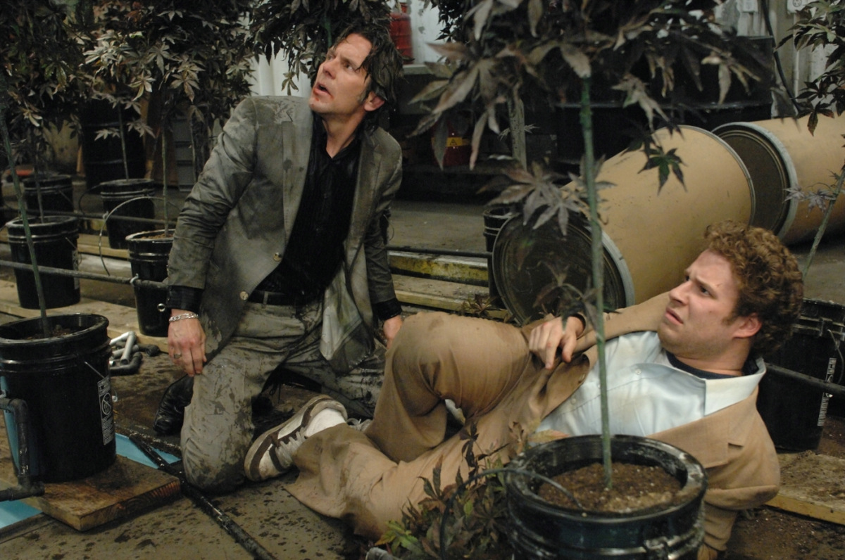 Gary Cole und Seth Rogen in 'Ananas Express' 2008 © Sony Pictures