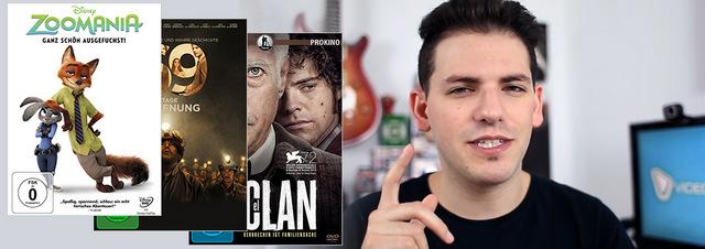 YouTube DVD & Blu-ray Tipps: Neue YouTubeTipps Zoomania, 69 Tage & El Clan