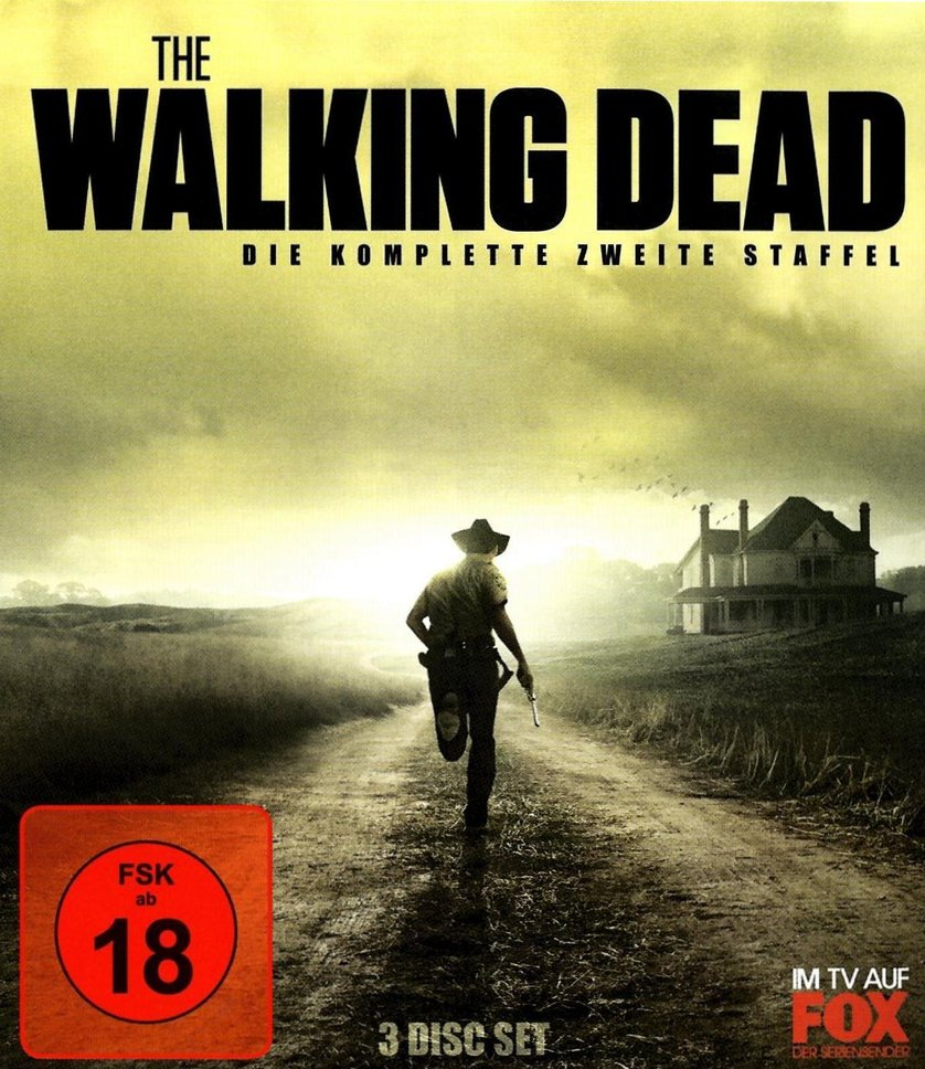 dvd the walking dead staffel 6