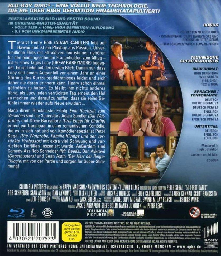 50 Erste Dates Dvd Oder Blu Ray Leihen Videobusterde