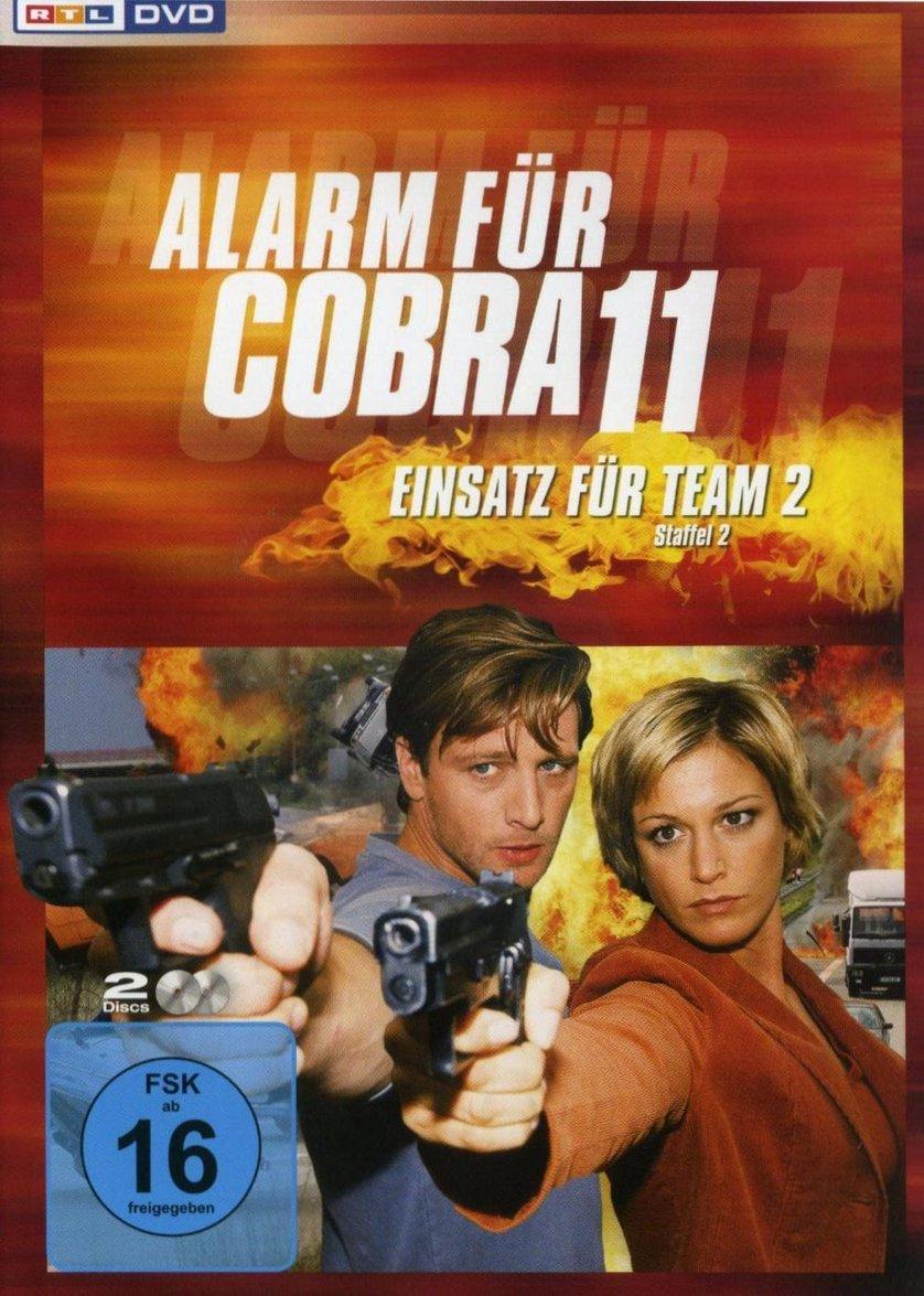 Andrea Schäfer Cobra 11 alarm für cobra 11 - einsatz für team 2 - staffel 2: dvd