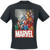 Marvel's The Avengers Classic Avengers powered by EMP (T-Shirt)
