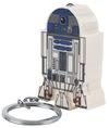 Star Wars R2-D2 Schlüsselanhänger weiß blau powered by EMP (Schlüsselanhänger)