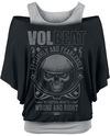 Volbeat Wrong & Right T-Shirt schwarz grau powered by EMP (T-Shirt)