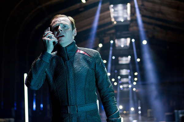 Simon Pegg in 'Star Trek 2 - Into Darkness' © Paramount 2013