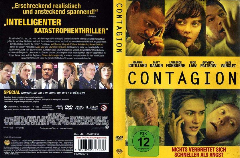 Contagion Dvd