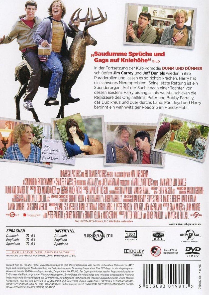 Dumm Und Dümmehr Dvd Oder Blu Ray Leihen Videobusterde