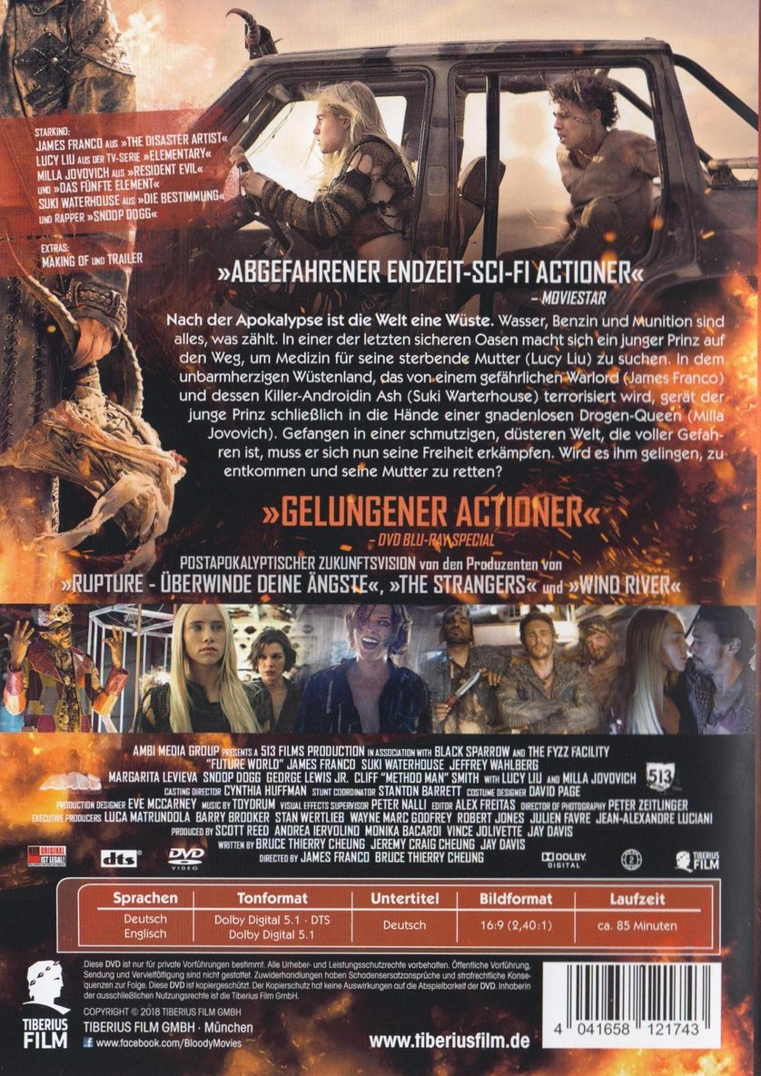 Future World Dvd Blu Ray Oder Vod Leihen Videobusterde