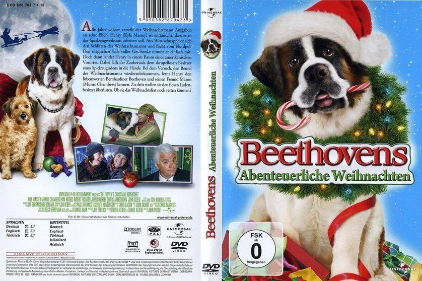 beethovens abenteuerliche weihnachten dvd oder blu ray. Black Bedroom Furniture Sets. Home Design Ideas