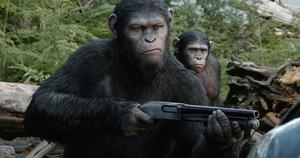 Affen mit Waffen: 'Revolution' © Fox