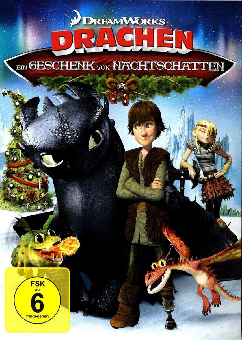 Dreamworks Drachen Ein Geschenk Von Nachtschatten Dvd