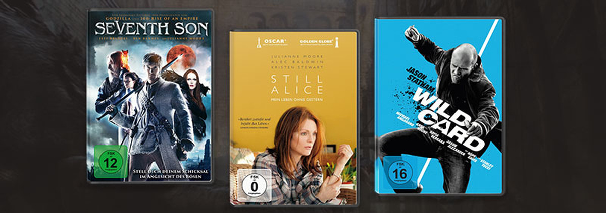 Top 3 im Verleih: Seventh Son, Still Alice & Wild Card