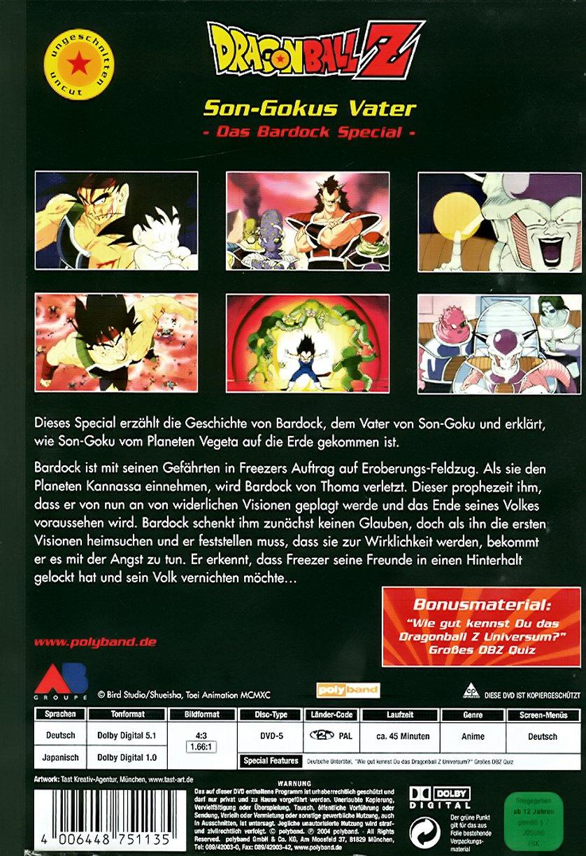 Dragon Ball Z Special: Son-Gokus Vater – Das Bardock Special