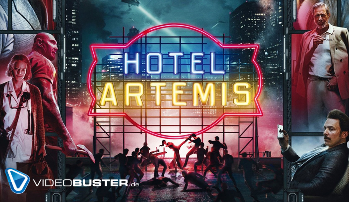 Hotel Artemis: In diesem Hotel gibt es Kugelhagel all inclusive