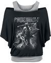 Powerwolf Call Of The Wild T-Shirt schwarz grau powered by EMP (T-Shirt)