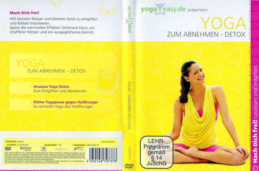 yoga zum abnehmen detox dvd oder blu ray leihen. Black Bedroom Furniture Sets. Home Design Ideas