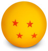 Dragon Ball Mini Dragon Ball Tischlampe rot gelb powered by EMP (Tischlampe)