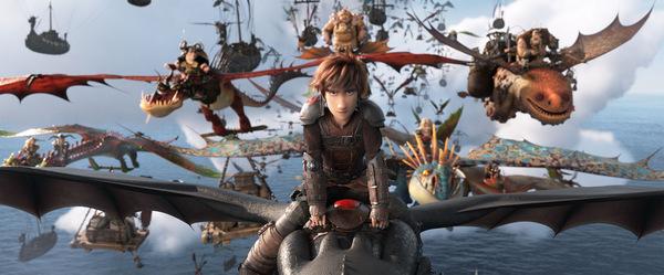 Überflieger im Kino: 'Drachenzähmen leicht gemacht 3' © DreamWorks