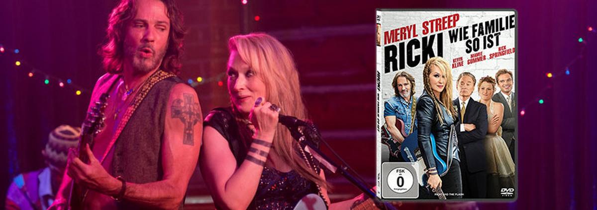 Ricki - Wie Familie so ist: Meryl Streep als Rock-Röhre mit Herz!