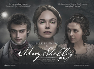 Postermotiv zu 'Mary Shelley' © IFC Films