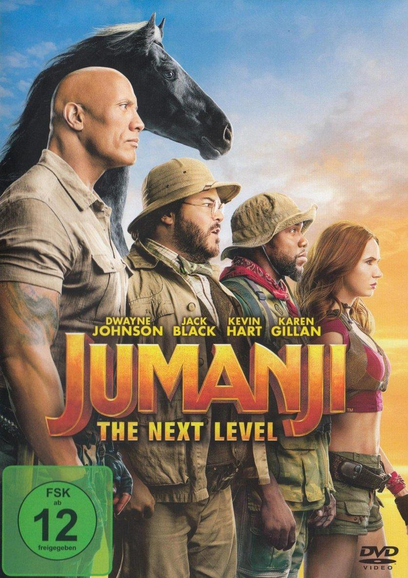 Jumanji 20   The Next Level DVD oder Blu ray leihen   VIDEOBUSTER.de