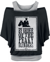 Peaky Blinders - Gangs Of Birmingham Framed T-Shirt schwarz grau powered by EMP (T-Shirt)