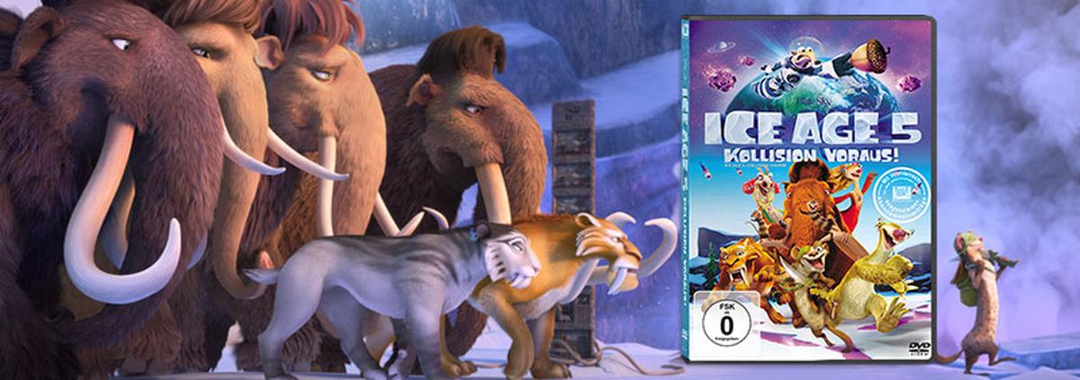 Ice Age 5: Neuer Heimkino Spaß mit Scrat und Co.!