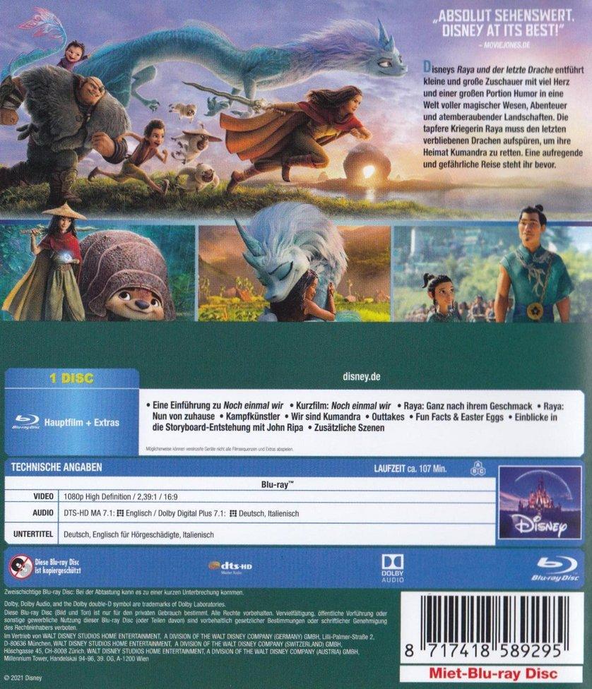 Raya und der letzte Drache: DVD oder Blu-ray leihen - VIDEOBUSTER.de