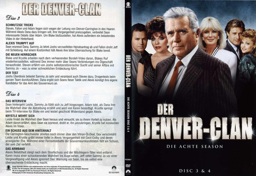 der denver clan staffel 8 dvd oder blu ray leihen. Black Bedroom Furniture Sets. Home Design Ideas