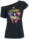 Wonder Woman Believe in Wonder powered by EMP (T-Shirt)
