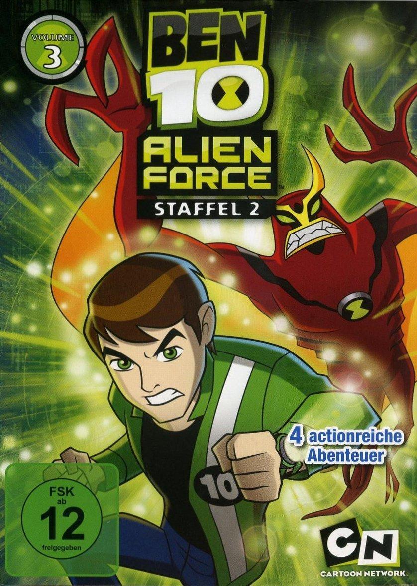 Ben 10: Alien Force - Staffel 2: DVD oder Blu-ray leihen ...