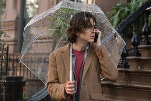 Timothée Chalamet in 'A Rainy Day in New York' (USA 2019) © Filmwelt