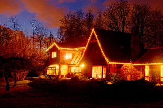 Die Weihnachtshütte
